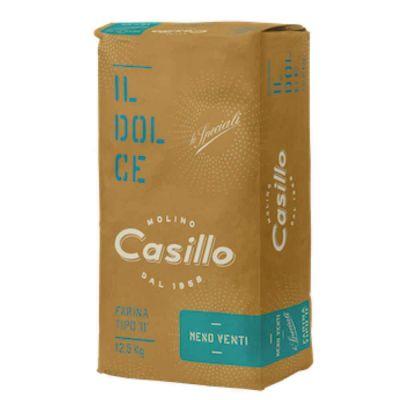 SOTTOZERO farina di grano tenero tipo 0 per pasticceria W400 Casillo 12,5 kg
