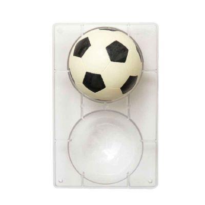 Pallone da Calcio realizzato con stampo di cioccolato
