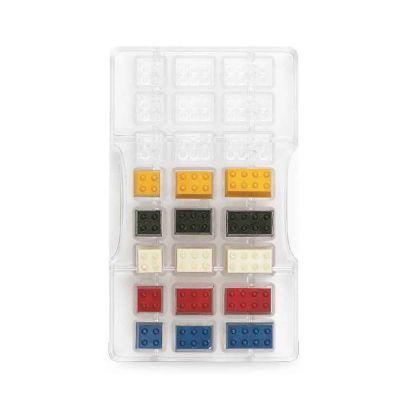 Stampo 24 cioccolatini mattoncini Lego