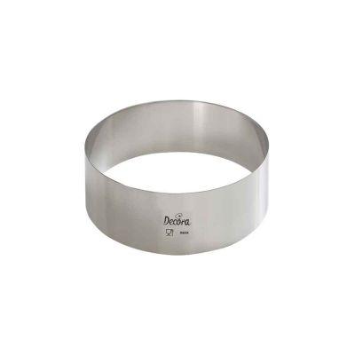 Sagoma cerchio inox Ø12cm