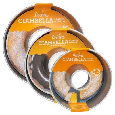 Stampo rotondo per ciambella antiaderente h 7,5 cm