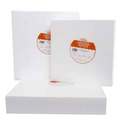Forma quadrata polistirolo alta 7,5 cm