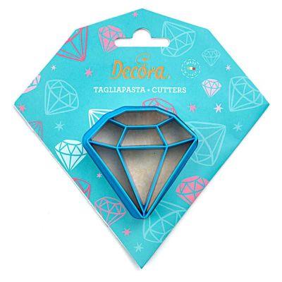 Cutter Tagliapasta in plastica Diamante Decora