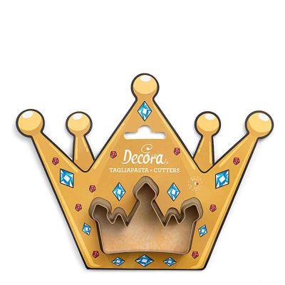 Cutter Tagliapasta in plastica Corona Reale Decora
