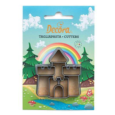 Cutter Tagliapasta in plastica Castello con Torri Decora