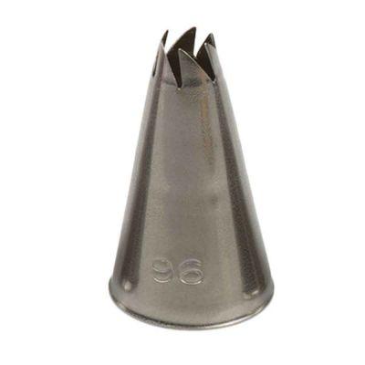 Beccuccio cornetto specialità 96 in acciaio inox Ø1,7 x 3 cm