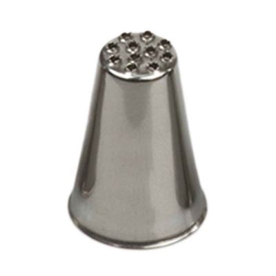 Beccuccio cornetto specialità multiforo 233 in acciaio inox Ø1,7 x 2,5 cm