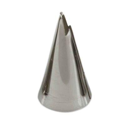 Beccuccio cornetto specialità frill 070 in acciaio inox Ø1,8 x 3,5 cm