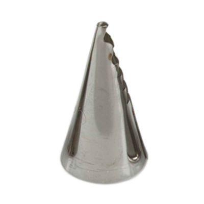 Beccuccio cornetto specialità frill 090 in acciaio inox Ø1,8 x 4 cm