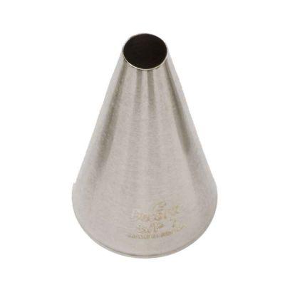 Beccuccio cornetto tondo grande 7 in acciaio inox Ø2,4 x 4,5 cm
