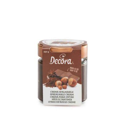 Crema spalmabile gusto Gianduia pronta all'uso 230 g Decora