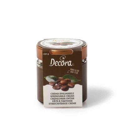 Crema spalmabile gusto Caffè pronta all'uso 230 g Decora