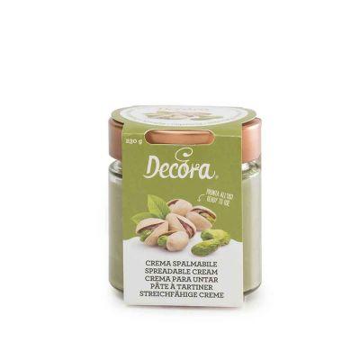 Crema spalmabile gusto Pistacchio pronta all'uso 230 g Decora