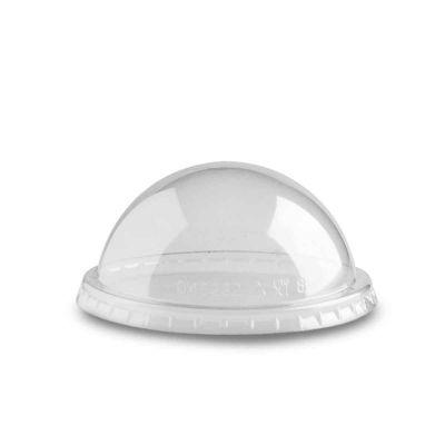 Coperchio bombato a cupola trasparente Poloplast Ø9,8 h4,4cm