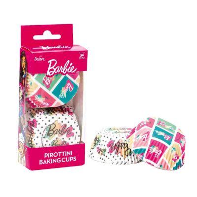 36 Pirottini logo Barbie 2 in carta Ø5cm
