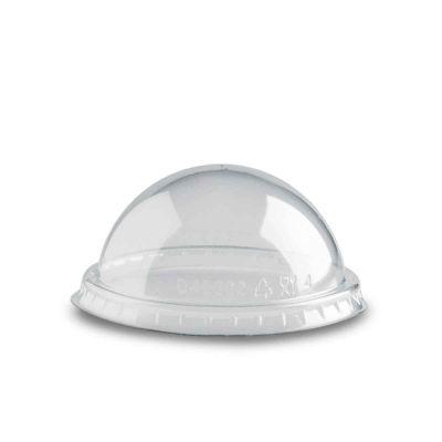 Coperchio bombato a cupola trasparente Poloplast Ø8,9 h4cm