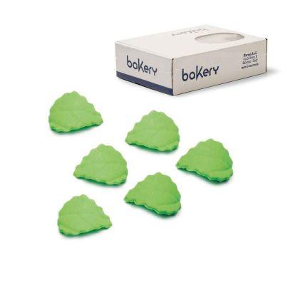 280 Decorazioni foglie piccole verdi in zucchero Bakery
