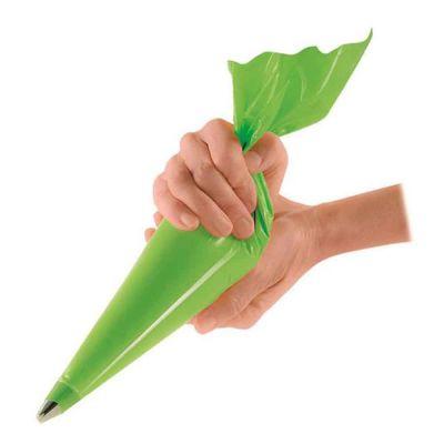 Tasche pasticcere antiscivolo verdi taglia media 46x23cm