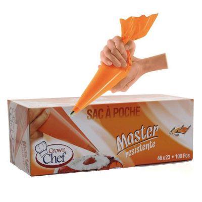Sac a poche tasca da pasticcere resistenti arancioni