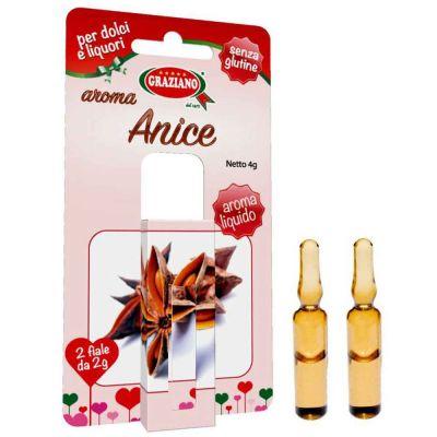 Aroma liquido per dolci gusto Anice 4g 2 fialette