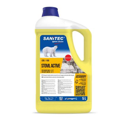 Stovil Active detergente Sanitec specifico per acque dolci 5 L