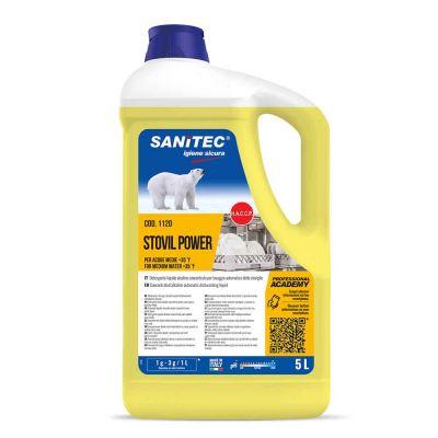 Stovil Power detergente Sanitec specifico per acque medie 5 L