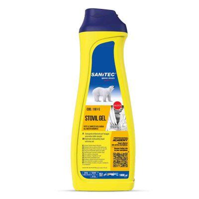 Stovil Gel detergente brillantante per tutte le durezze dell'acqua 1 L