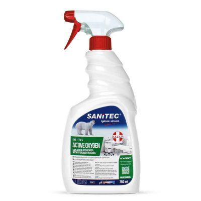 Active Oxygen detergente igienizzante spray con acqua ossigenata Sanitec 750 ml