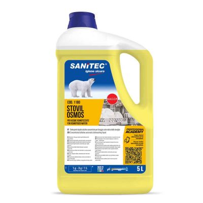 Stovil Osmos detergente Sanitec specifico per  per acque osmotizzate 5 L