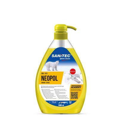 Neopol Agrumi sapone per piatti Sanitec 1 L
