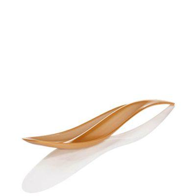 Cucchiaini di plastica design Poloplast Wave oro