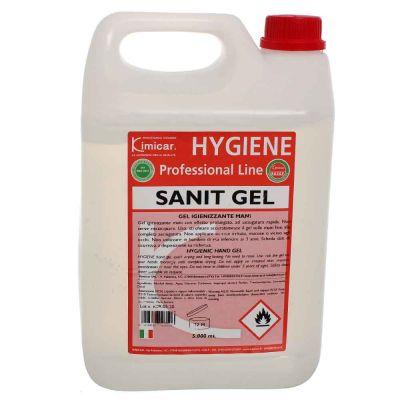 Ricarica Gel per mani igienizzante antibatterico antivirus SANIT-GEL 5 litri