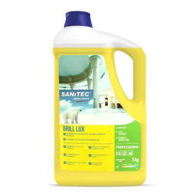 Brill Lux detergente sgrassante ad effetto lucidante Sanitec 5 L