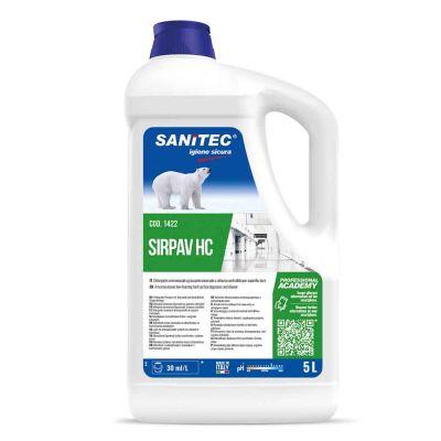Sirpav HC detergente per superfici sgrassante con ammoniaca Sanitec 5 L