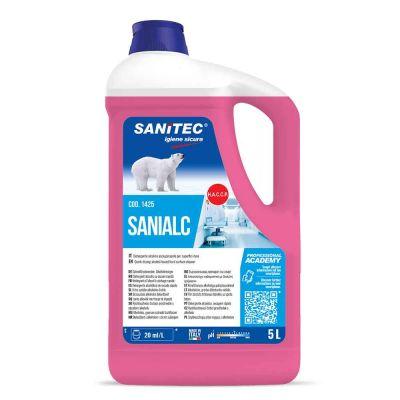 Sanialc detergente solventato asciugarapido Sanitec 5 L