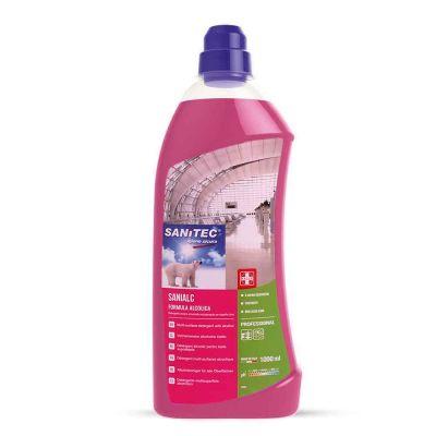 Sanialc detergente solventato asciugarapido Sanitec 1 L