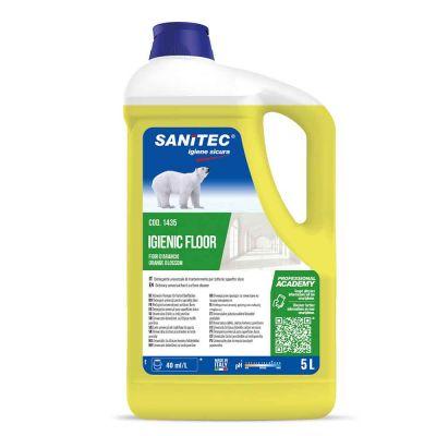 Igienic Floor detergente profumato fiori d'arancio per pavimenti Sanitec 5 L
