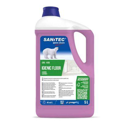 Igienic Floor detergente profumato lavanda per pavimenti Sanitec 5 L