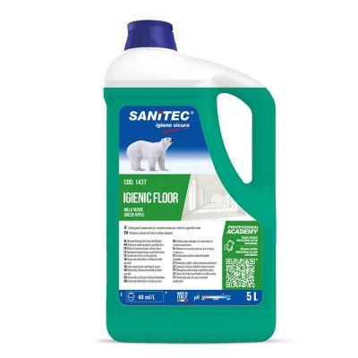 Igienic Floor detergente profumato mela verde per pavimenti Sanitec 5 L