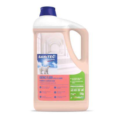 Igienic Floor detergente profumato pesca e gelsomino per pavimenti Sanitec 5 L