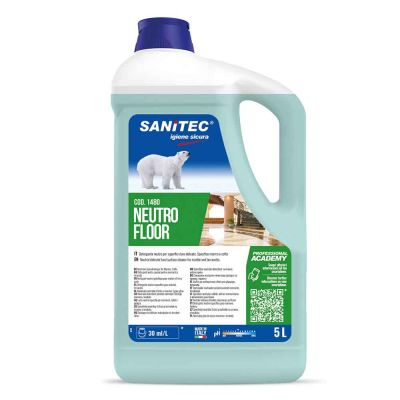 Neutro Floor detergente per superfici delicate Sanitec 5 L