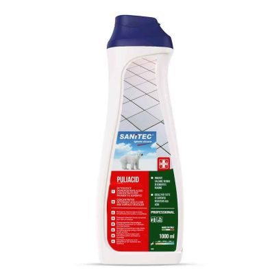 Puliacid detergente disincrostante concentrato Sanitec 1 L