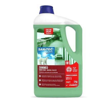 Sanimed disinfettante concentrato per uso ambientale Sanitec 5 L