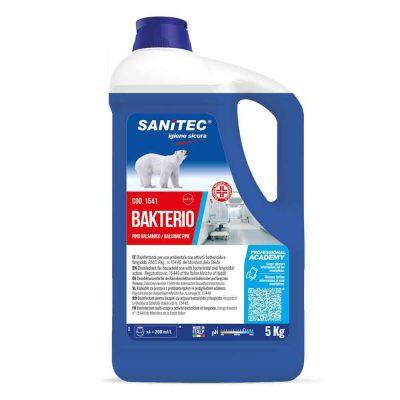 Bakterio disinfettante battericida e fungicida Sanitec 5 L