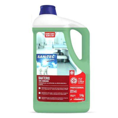 Bakterio disinfettante al lime e mandarino battericida e fungicida Sanitec 5 L