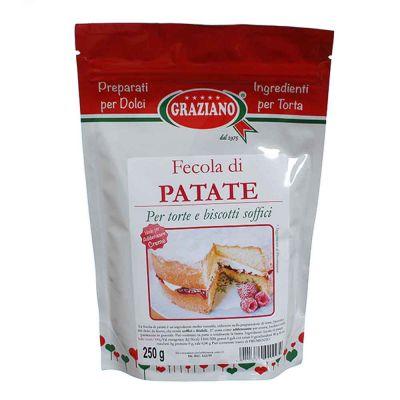 Fecola di Patate per dolci e creme 250 g Graziano
