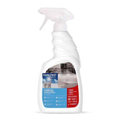Cloro Gel detergente spray profumato con cloro attivo Sanitec 750 ml