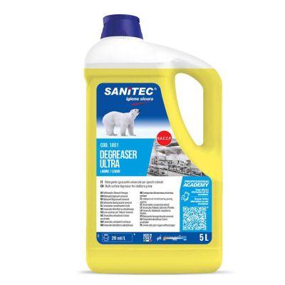 Degreaser Ultra sgrassante universale Limone Sanitec 5 L