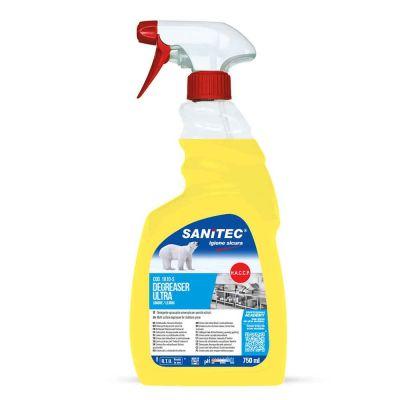 Degreaser Ultra spray sgrassante universale al limone Sanitec 750 ml