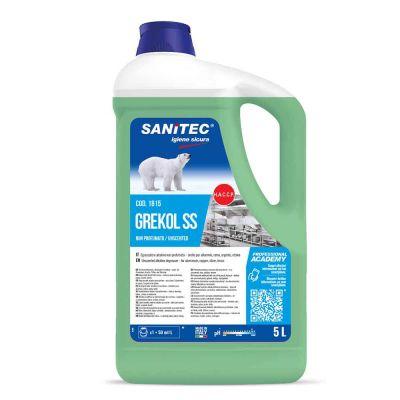 Grekol SS detergente sgrassante alcalino non profumato Sanitec 5 L